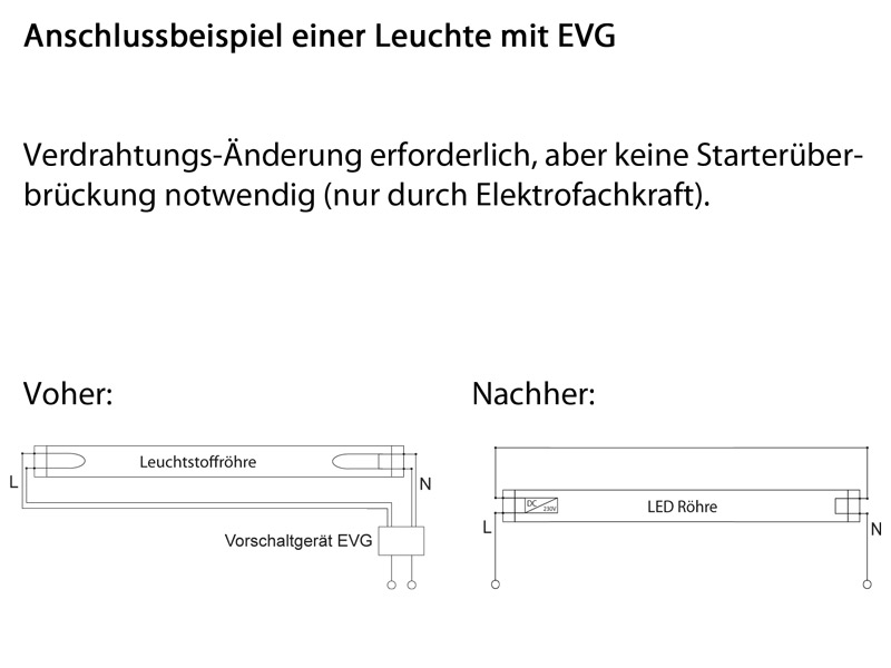 Niedlich Led Rohr T8 Schaltplan Ideen - Elektrische ...