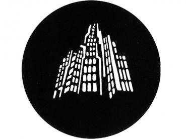 "Metall-Gobo ""SKYLINE"" Ø53,3mm"