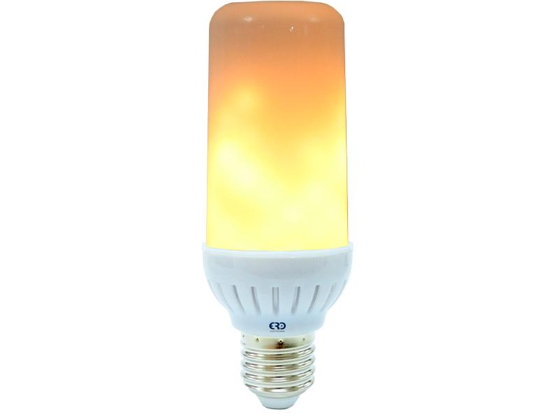 2//4 E14 B22 6W LED Flickering Birnen Fackel Feuer Lampe Flammen Glühbirne Effekt