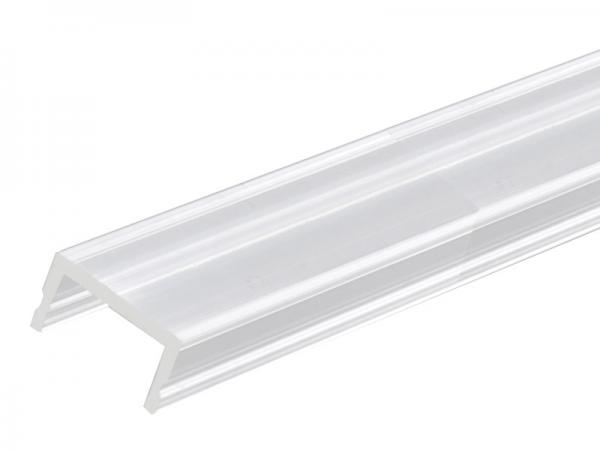 led profil pogo abdeckung transparent klar 3m ero lichttechnik. Black Bedroom Furniture Sets. Home Design Ideas