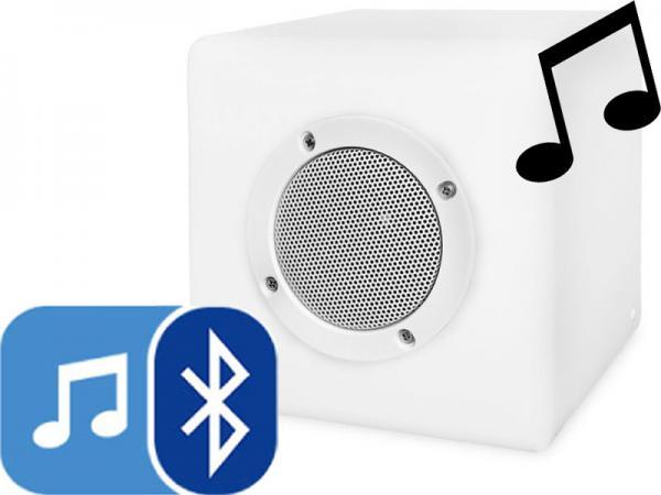 bluetooth lautsprecher smooz cube 15 rgb mit fernbedienung ebay. Black Bedroom Furniture Sets. Home Design Ideas